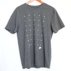 Nike Men's Gray T-shirt  Large